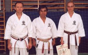 Conny, Saiko Shihan och Emma.